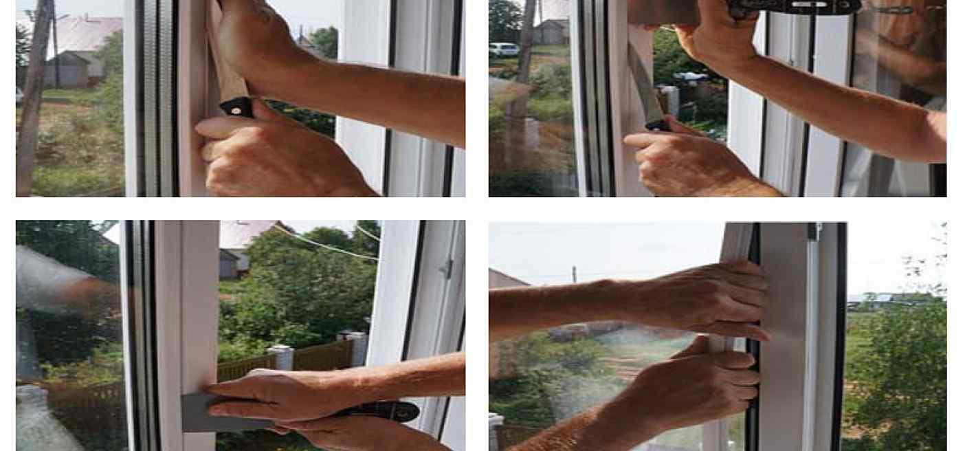 замена стеклопакета в окне
