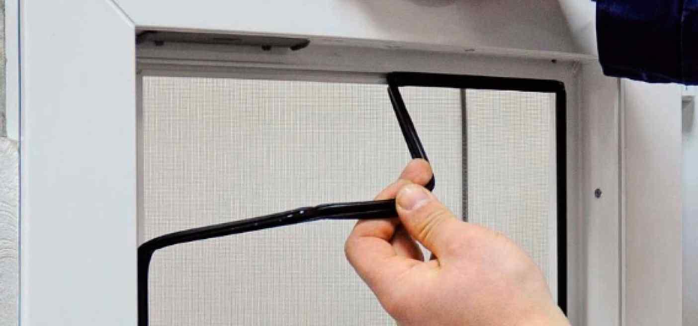 Поменять уплотнитель на пластиковых окнах 124