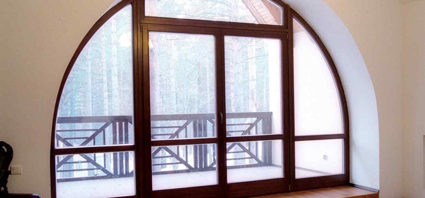 Окна арки