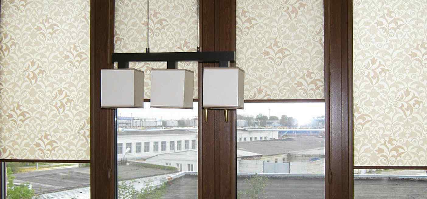 Рольшторы пластиковые окна