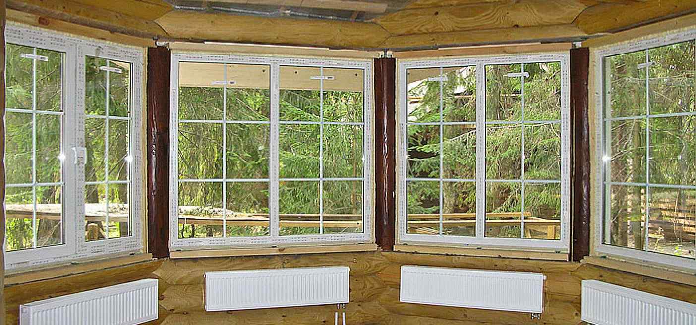 остекление веранды окнами