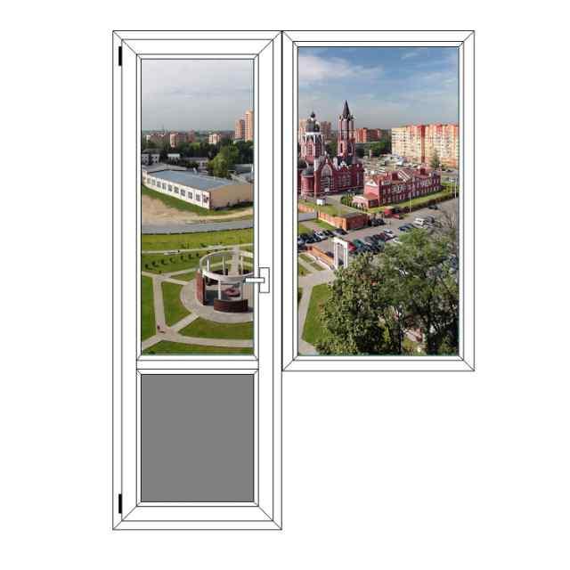 Балконный блок Grunder Щелково